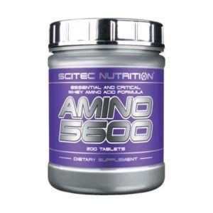 Nejlepší aminokyseliny amino 5600 scitec nutrition