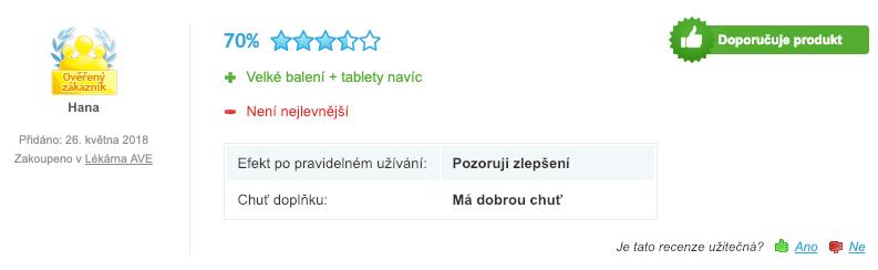 bellasin recenze