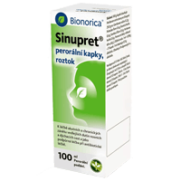 Sinupret – Kapky na nachlazení a rýmu